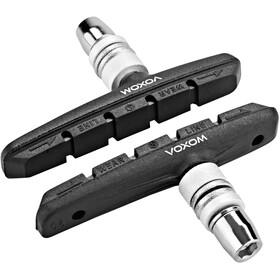 Voxom Brs2 MTB V-Brake Bremsebelægninger 72mm, black
